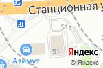 Схема проезда до компании АВТОКОНЦЕПТ в Новосибирске