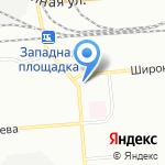 Магазин-пекарня на карте Новосибирска