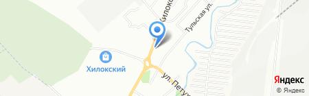 Истамбул на карте Новосибирска