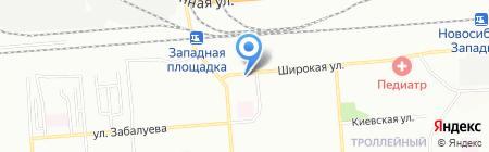 Металл Гарант Профи на карте Новосибирска