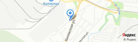 Гриолла на карте Новосибирска