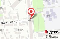 Схема проезда до компании Диал-М в Новосибирске