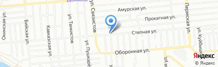 Абсолют-Авто на карте Новосибирска