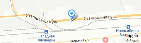 SIBKOLESO.RU на карте Новосибирска