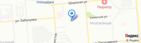 Детский сад №441 на карте Новосибирска