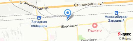 СОСЕДИ на карте Новосибирска