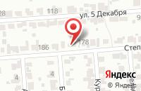Схема проезда до компании Шиномонтажная мастерская в Белово