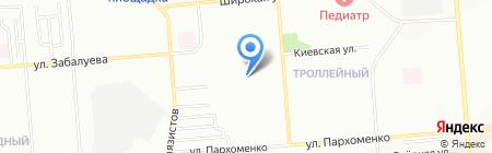 Средняя общеобразовательная школа №45 на карте Новосибирска