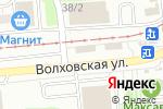 Схема проезда до компании Автомойка в Новосибирске