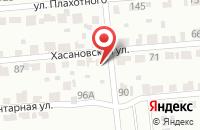 Схема проезда до компании Южгазстрой в Новосибирске