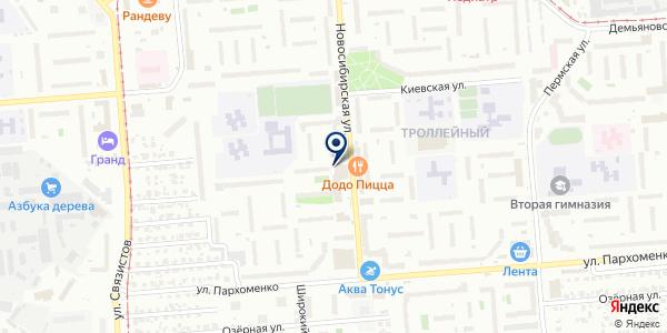 ФотоДом на карте Новосибирске
