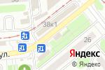 Схема проезда до компании Мясной городок в Новосибирске