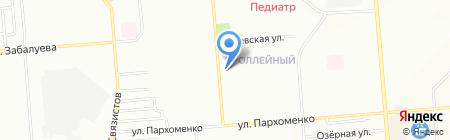 Эксклюзив на карте Новосибирска