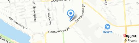 ХоZяюшка на карте Новосибирска