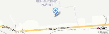 ПолимерЦвет на карте Новосибирска