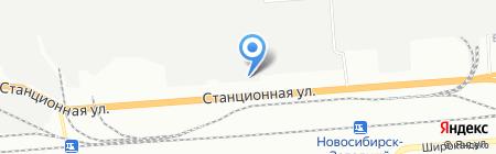 РАЙС на карте Новосибирска