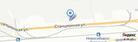 АРПИС на карте Новосибирска