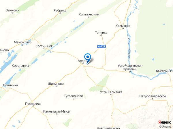 село Вавилон на карте