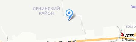 Када на карте Новосибирска