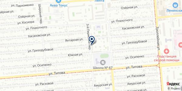 Зимушка на карте Новосибирске