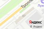 Схема проезда до компании АТЕСИ-Новосибирск в Новосибирске