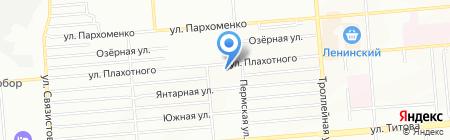 Детский сад №323 на карте Новосибирска