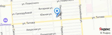 Средняя общеобразовательная школа №67 на карте Новосибирска