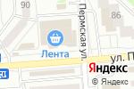 Схема проезда до компании Malabar в Новосибирске