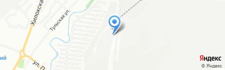 Сибирская трапеза на карте Новосибирска
