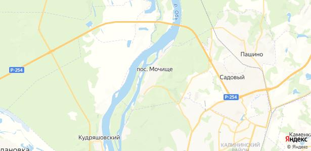 Мочище на карте