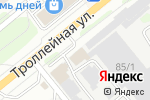 Схема проезда до компании РомАн в Новосибирске