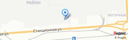 АвтоАльянс на карте Новосибирска