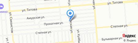Сиринга на карте Новосибирска