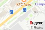Схема проезда до компании Промтек в Новосибирске