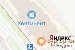 Схема проезда до компании Сеть магазинов бижутерии и ремней в Новосибирске