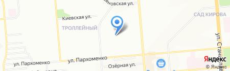 Детский сад №445 Ромашка на карте Новосибирска