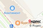 Схема проезда до компании Ортикон в Новосибирске