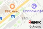 Схема проезда до компании ТК ЮнионТранс в Новосибирске