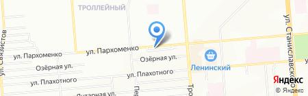 Альянс Страхование на карте Новосибирска