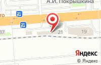 Схема проезда до компании Мега в Исети