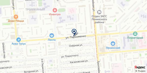 Центр фотокопировальных и видеоуслуг на карте Новосибирске