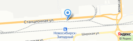 КОМАЦУ-ФОРКЛИФТ на карте Новосибирска