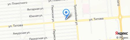 XADO сервис на карте Новосибирска