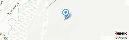 Втормет на карте Новосибирска