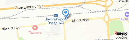 Мистер Ойл на карте Новосибирска