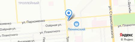 Крепеж Инструмент на карте Новосибирска