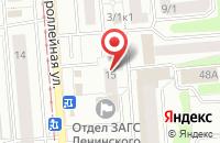 Схема проезда до компании Ви Ас Медиа в Новосибирске