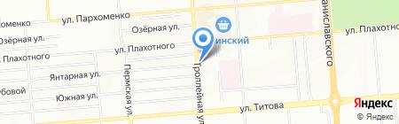 Уzбечка Food на карте Новосибирска