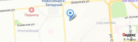 Высота 214 на карте Новосибирска