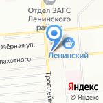 Книжный магазин на карте Новосибирска